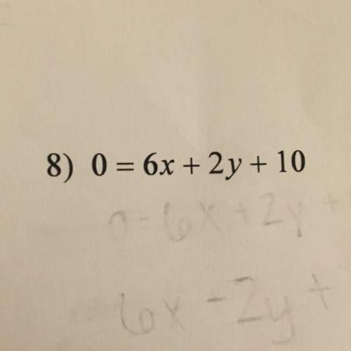 Find the slope of the line parallel to each given line