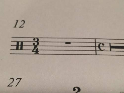 Does the 3/4 time signature mean the 2 beat rest is a 3 beat rest? or is it still a 2 beat rest?
