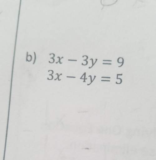How do you solving the solution of each system using elimination?