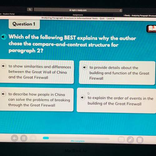 Which of the following best explains why the author chose the compare-and-contrast structure for par