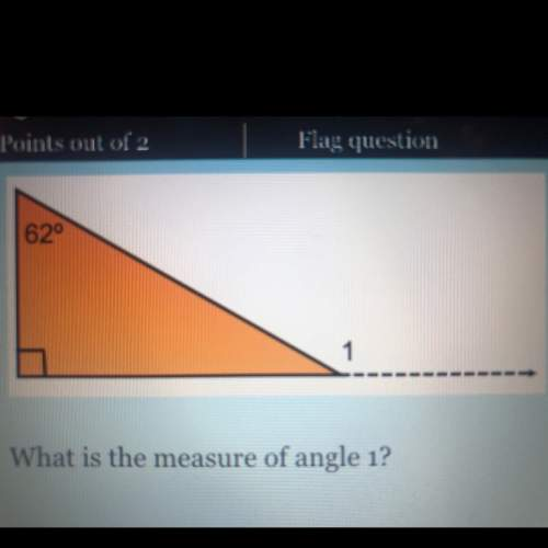 What is the measure of angle 1? a.28 b.152 c.168 d.64