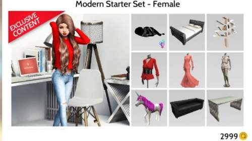 Does this set in avakin life come with a house?