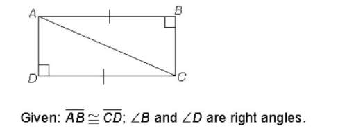 Which is a logical conclusion based on the given information? a. figure abcd is a rhombus by the de