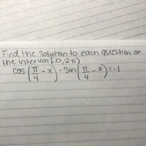Find the solution on the interval [0, 2pi)