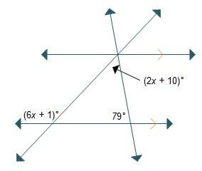 What is the value of x? x = 2.25 x = 11.25 x = 13 x = 22