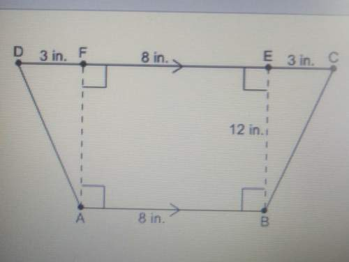 What is the area of this trapezoid96 in2132in2168in21344in2
