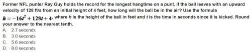 Former nfl punter ray guy holds the record for the longest hangtime on a punt. if the ball leaves wi
