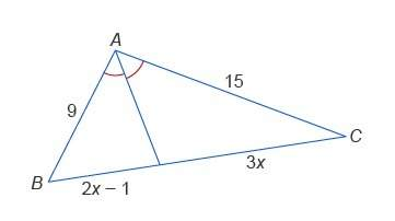 What is the value of x? enter your answer in the box. x = 