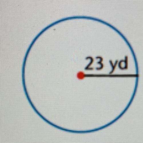 Find the circumference of the circle (use 3.14 for pi)show your work.round to the nearest tenth.