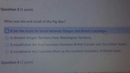 What was the result of the end of the pig war