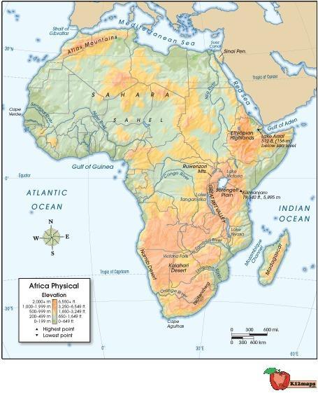 Which of these coordinates is closest to mt. kilimanjaro? 2° s latitude; 30° e longitude 4° s lati