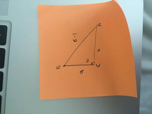 In right triangle abc, angle c = 90 degrees, c = 3, and a + b = square root of 17. compute the area