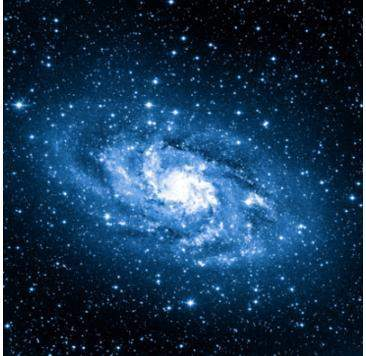 You have learned about supermassive black holes in this lesson. select the area on the image of the