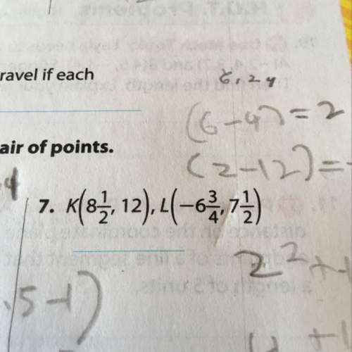 Me plz use the distance formula to find the distance between each pair of points round to the neares