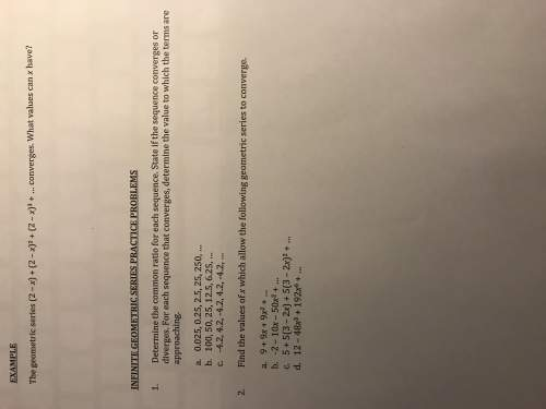 Could someone solve these with work?