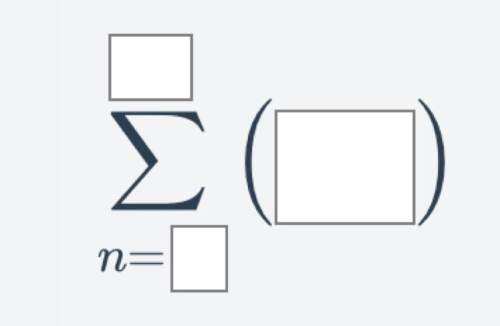 Will give brainliest series to sigma notation write the following series in sigma notation. 6+10+14+