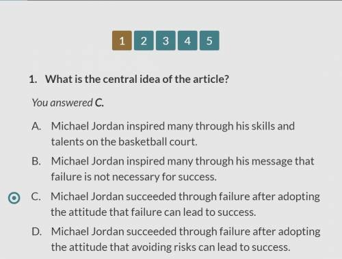 What is a central idea in the artical,micheal jordan: a profile in failure by jeff stibel