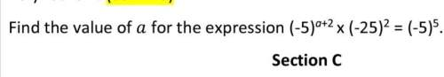 Exponents and powers question need , answer with explanation.