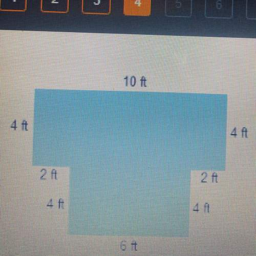 The perimeter of the shape is ft ?