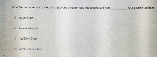 After france pulled out of vietnam, the country was divided into two nations with ruling north vietn