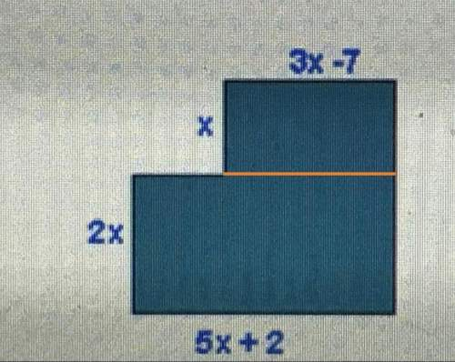 Explain with words how you find the area of the figure. then find the area.  image attac