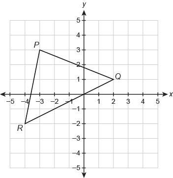 What are the endpoint coordinates for the midsegment of △pqr that is parallel to pq?  enter y
