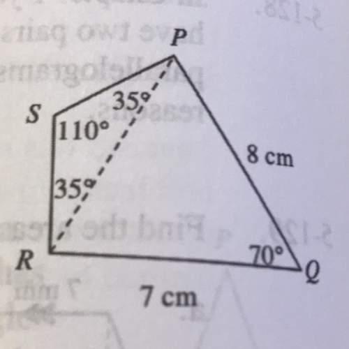 A. find pr in the diagram  b. find the perimeter of quadrilateral pqrs