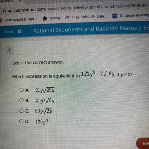 Which expression is equivalent